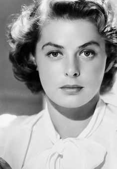 Ingrid Bergman (bonr in Stockholm (Sweden) on August 29, 1915 – died in London (England) on August 29, 1982)