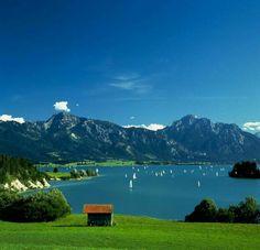 Forggensee Bayern, Deutschland