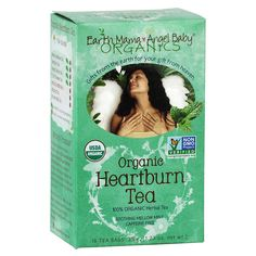 Sometimes pregnancy turns on what can feel like a furnace in your belly! USDA Certified 100% Organic, Non-GMO Project Verified and Certified Kosher, Heartburn Tea was lovingly created to help put out