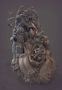 Top 10 Digital Sculpt and Making by JAMES W CAIN JAMES W CAIN is a Digital Sculptor from Maidstone,