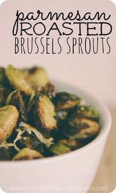 roasted brussel sprouts - I will be making this week, I'll post how it turned out.