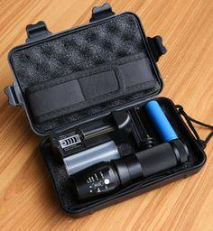 Lanterna LED Flashlight 8000Lumen CREE XM-L2 Zoomable Aluminum  LED Torch for 18650/26650/AAA Battery Tactical Flashlight  X800