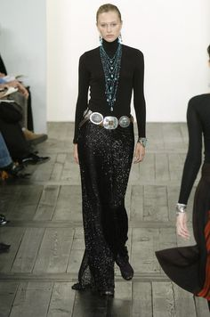 Ralph Lauren at New York Fashion Week Fall 2004