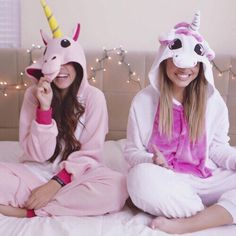 Imagen de unicorn, friends, and friendship