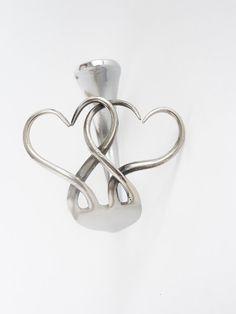 SS fork cuff bracelet by Shopofmetaldreams on Etsy, $29.00