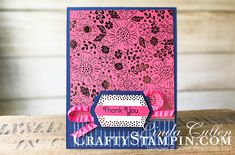 Stampin Scoop Everything Rosy Product Medley | Stampin Up Demonstrator Linda Cullen | Crafty Stampin' | Purchase your Stampin' Up Supplies | Everything Is Rosy Product Medley