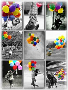K.E. 26062016 Color splash Balloons