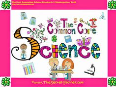 """FREE Common Core Science Posters for PreK/K  (w/ matching Social Studies posters also avail).....Follow for Free """"too-neat-not-to-keep"""" teaching tools & other fun stuff :)"""