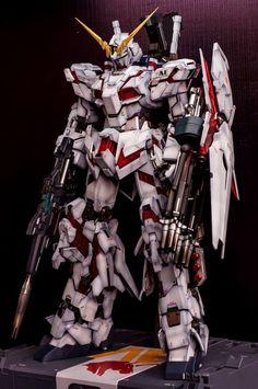 Custom Build: PG 1/60 RX-0 Full Armor Unicorn Gundam - Gundam Kits Collection News and Reviews