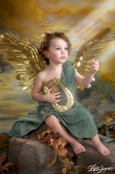 Children and Babies Lisa Jane Angel Images, Angel Pictures, Angel Wallpaper, Angel Drawing, Angel Prayers, I Believe In Angels, Saint Esprit, My Guardian Angel, Montage Photo