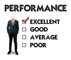English Phrases for Performance Evaluation
