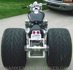 Frankenstein Trike Conversion Kit Custom Honda CBX photo