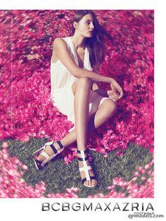 Stephanie Hall & Charlotte Wiggs for BCBG Max Azria Spring/Summer 2014 Campaign - http://qpmodels.com/european-models/stephanie-hall/6063-stephanie-hall-charlotte-wiggs-for-bcbg-max-azria-spring-summer-2014-campaign.html