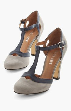 cute grey heel