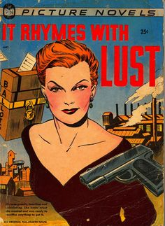 Early graphic novel published in 1950, written by Arnold Drake and Leslie Waller, with art by Matt Baker.