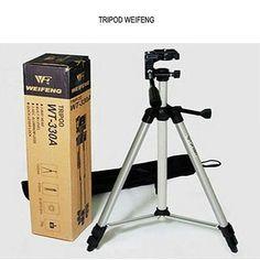 Tripod Weifeng Tripod ini menjadikan Anda fotografer dengan tingkat yang lebih baik dari sebelumnya dengan tinggi maksimal 42 inch 3-way smooth pan head bubble level dan pelepas kunci pada kaki penyanggah yang mudah dan cepat digunakan akan membuat Anda menghemat banyak waktu untuk penggunaan selanjutnya. Panjang Max 42 inch Min 15 inch.  Features Design Tripod ini memiliki bahan yang berkualitas kokoh dan stabil. Mampu menopang berat kamera hingga 7 kg 4 Segment kaki yang dapat dipanjangkan…
