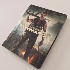 #1Day1Steelbook Commando BluRay Steelbook from UK  @zavviuk #steelbook #steelbookfan #steelbookaddict #steelbookcollection #bluray #bluraysteelbook #dvd #movie #UKSteelbook #cinema #collection #Fan #moviecollection #collector #edition #film #commando #arnoldschwarzenegger #jamiefoxx #vernonwells #danhedaya #raedawnchong #jamesolson #alyssamilano #20thcenturyfox @20thcenturyfox