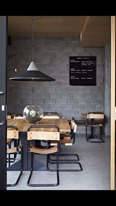 All Things home design interior design room design Home Interior, Interior Architecture, Interior And Exterior, Interior Decorating, Interior Modern, Modern Luxury, Decorating Ideas, Design Café, Cafe Design