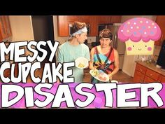 MESSY CUPCAKE DISASTER | RICKY DILLON - YouTube