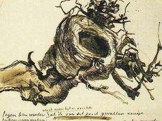 Gogh Vincent van Ommuurd veld overzichtspagina