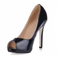 Zapatos stilettos Zapatos Salón Tacones Encaje Cuero De Tacón Salón Tacones rInRIUqw