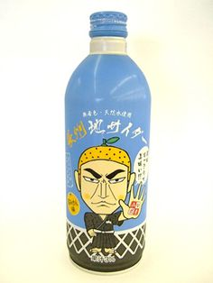 Japanese Local Drink: Choshu Samurai Orange Soda (Yamaguchi-City, Japan) |山口市 長州地サイダー