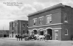 Fire Station Amarillo Texas 1912