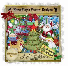 HorsePlay's Pasture Designs: Ho! Ho! Ho! Here's an early Xmas Gift!