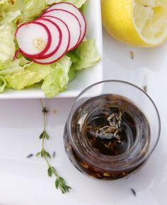 #Lavender & Honey Balsamic Vinaigrette