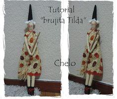 El rincón de Chelo: Tutorial - Brujita Tilda
