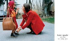 love with the proper stranger: Vintage Kate Spade Ads Part I