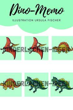 Ursula, Diy For Kids, Illustration, Kids Day Out, Kids Dinosaurs, Kindergarten Games, Children Laughing, Stories For Children, Illustrations