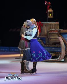 Disney On Ice Frozen, Anna Disney, Disney Couples, Hot Couples, Disney Love, Walt Disney, Cute Princess, Princess Anna, Disney Princess