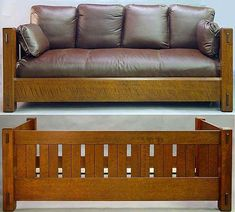 Home Decorative Furniture Craftsman Furniture, Deck Furniture, Furniture Plans, Furniture Design, Arts And Crafts Furniture, Handmade Furniture, Reading Nook Chair, Wooden Couch, Mission Style Furniture