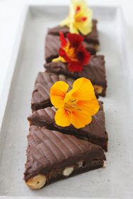 Chokoladesnitter m. hasselnød