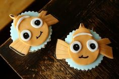 Coco Cake Cupcakes--Vancouver BC by Lyndsay Sung: Clown Fish Power: Finding Nemo Cupcakes