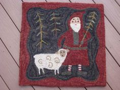 Christmas Rugs, Primitive Christmas, Country Christmas, White Christmas, Christmas Sweaters, Prince Of Peace, Hand Hooked Rugs, A Child Is Born, Rug Company