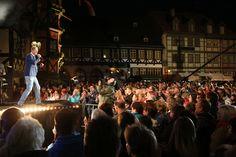 Tausende Besucher waren vom Bühnenprogramm auf der Marktplatzbühne begeistert.