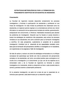 Estrategias metodológicas - Documents