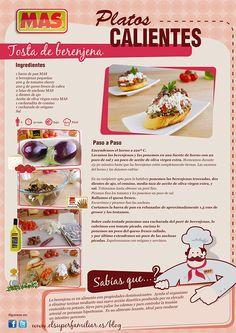 Deliciosa forma de tomar la #berenjena: con estas riquísimas tostas  #InfoReceta #Receta