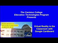 Google Cardboard in the Classroom NYSCATE Digital Wave Conference 5 9 16 - YouTube