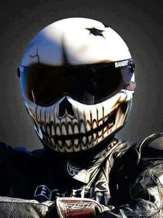 Awesome motorcycle helmet