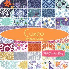 Cuzco MINI Charm Pack Kate Spain for Moda Fabrics - Fat Quarter Shop