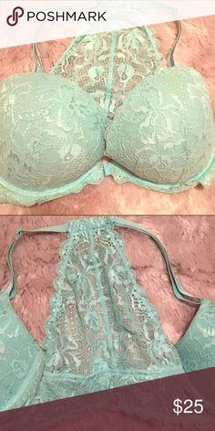 Victoria's Secret bra 36DD soo gorgeous and too small on me so I've never worn Victoria's Secret Intimates & Sleepwear Bras
