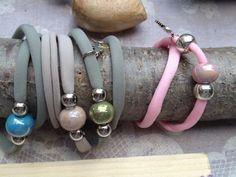 Braccialetti con perla di Ceramica