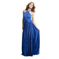 22 different ways to wear 1 dress! Prom Dresses Blue, Bridesmaid Dresses, Formal Dresses, Wrap Dresses, Blue Evening Gowns, Evening Dresses, Multi Wrap Dress, Pregnant Bridesmaid, Blue Wedding