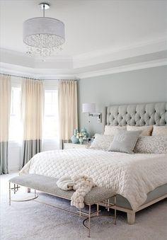 Couleur chambre adulte en gris design