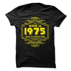 [Best stag t shirt names] Made in 1975 Aged to Perfection yellow  Free Ship  Made in 1975 Aged to Perfection yellow  Tshirt Guys Lady Hodie  SHARE TAG FRIEND Get Discount Today Order now before we SELL OUT  Camping 1948 yellow logo 67 t shirt made in 1975 aged to perfection