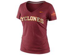 Nike NCAA Womens FA12 Seasonal Vneck T-Shirt