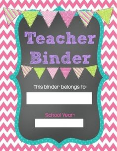 "This FREEBIE includes pages for the following sections:  *Binder cover page *Student Roster section {mainly for attendance forms} *Lesson plans section *Data section *Common Core section  *State Standards (and any other standards you need to follow) section *A section for ""Notes,"" which is meant for and notes from in-services, PDs ,meetings, etc. *A section for ""notes to self"" ..... Follow for Free ""too-neat-not-to-keep"" teaching tools & other fun stuff :)"
